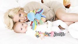Kateřina Kristelová s devítiměsíční dcerou Claudií