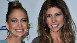 Jennifer Lopez se sestrou Lyndou.