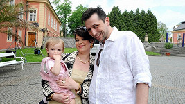 Alžběta Stanková a Jan Seidel jsou rodiči dcery Alžběty.