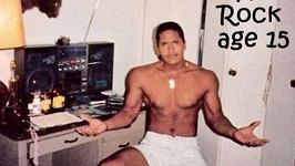 Dwayne Johnson a jeho neuvěřitelná ramena v patnácti letech!