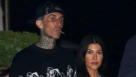 Kourtney Kardashian a Tarvis Barker