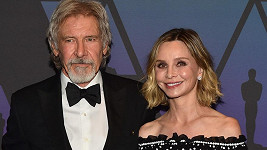 Harrison Ford s manželkou Calistou Flockhart