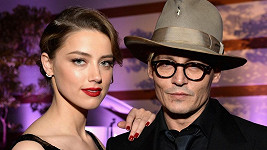 Johnny Depp s údajnou snoubenkou Amber Heard
