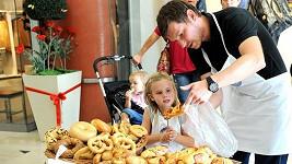 David Švehlík s dcerou Sofií.