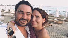 Veronika s manželem, který jí je oporou.