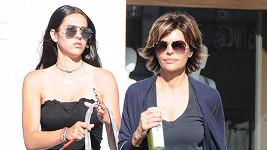 Lisa Rinna a její patnáctiletá dcera v Beverly Hills