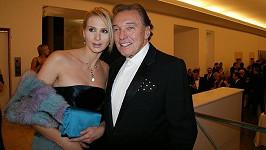 Ivana Gottová a Karel Gott vyrazili do společnosti.