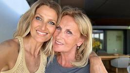 Tereza Maxová s maminkou Alenou.