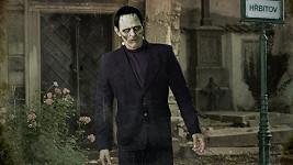 Kdo z českých herců je schován pod maskou monstra z Frankensteina?