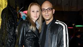 David Spilka se svou ženou
