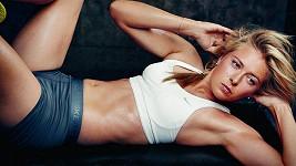 Maria Šarapovová a její vypracované tělo.