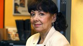 Eva Hurychová osobně na křtu knihy.