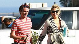Kate Hudson a Matthew Bellamy si společné chvíle užívají.