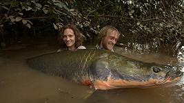 Jakub chytá největší ryby světa. Největším úlovkem je prý ale jeho přítelkyně Jana.