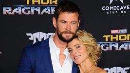 Chris Hemsworth s manželkou Elsou Pataky