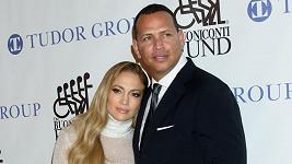 Jennifer Lopez s partnerem Alexem Rodriguezem