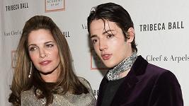 Stephanie Seymour se synem Harrym