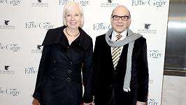 David Suchet s manželkou Sheilou Ferris