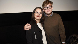 Daniela Choděrová se synem.