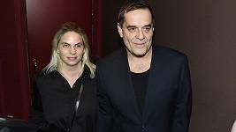 Miroslav Etzler s partnerkou Helenou