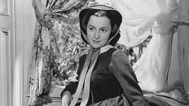 Olivia de Havilland ve slavném filmu Jih proti Severu