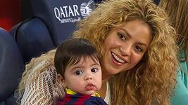 Shakira a Milan přišli podpořit tatínka.