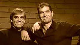 Miroslav a Tomáš Etzlerovi na snímku z roku 2005