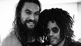 Jason Momoa a Lenny Kravitz