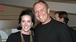 Kate Spade s kolegou z módní branže Michaelem Korsem (archivní foto)