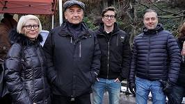Miroslav Donutil vyrazil na výlet do zoo s celou rodinou.