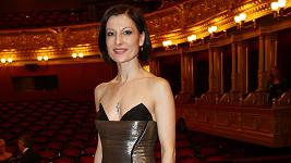 Tereza Podařilová v modelu od Natali Ruden.