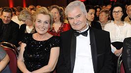 Milan Wolf s manželkou Zdeňkou