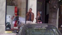 Tomáš Berdych se svojí Ester
