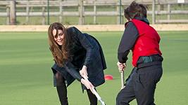 Kate je ve sportu stále velmi dobrá.