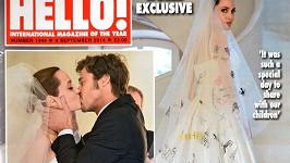 Výjimečný den Angeliny Jolie a Brada Pitta...