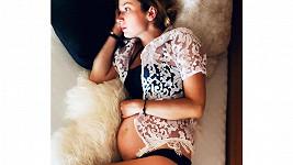 Marika Šoposká prozradila, že je znovu těhotná.