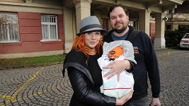 Štěpánka Decastelo s bývalým snoubencem Filipem