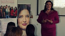 Ivana Christová na prezentaci svých služeb
