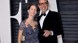 Goldblum a Livingston na Vanity Fair Party