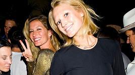 Toni Garrn se setkala s bývalkou svého přítele Gisele Bündchen.