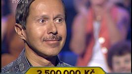 Pavel Judas v soutěži Chcete být milionářem