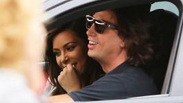 Kim Kardashian se nechala vozit tímto sympaťákem.