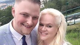 Monika Štiková s manželem