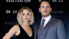 Jennifer Lawrence s Chrisem Prattem, kterého podle některých rozvedla s manželkou...