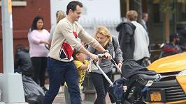 Claire Danes si užívá s rodinkou.