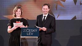 Lenka Krobotová a Jaroslav Plesl budou letošními tvářemi Českého lva.