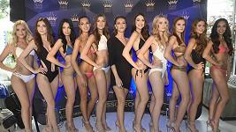 Táňa Makarenko a krásky aspirující na titul Miss Czech Republic