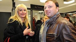 Vendula Auš Svobodová s mnaželem Patrikem.