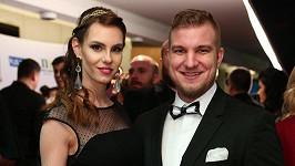 Lukáš Adamec s manželkou