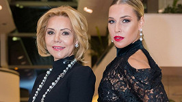 Dominika Cibulková s maminkou